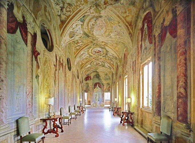 Villa Grazioli - Galleria del Pannini