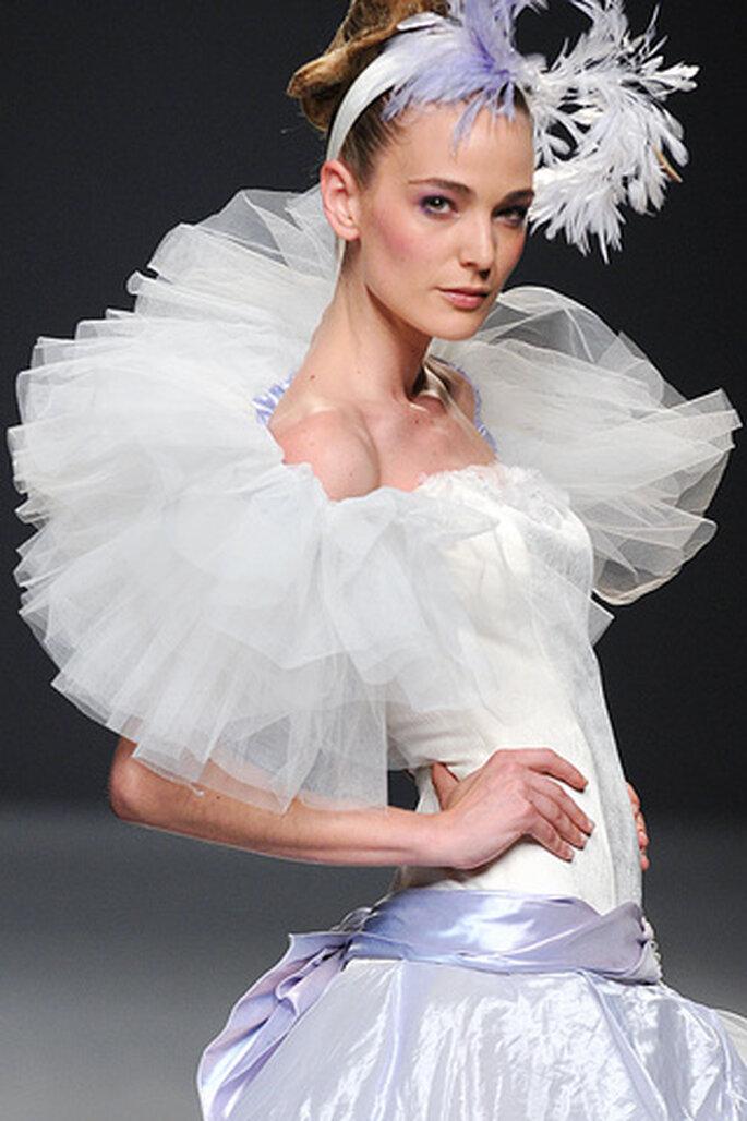 Vestido de novia Ruben Perlotti 2012 inspirado en las bailarinas de ballet - Tomy Pelluz / Vogue
