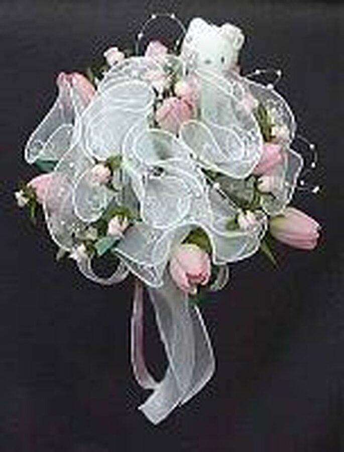 Bouquet de la mariée Hello Kitty
