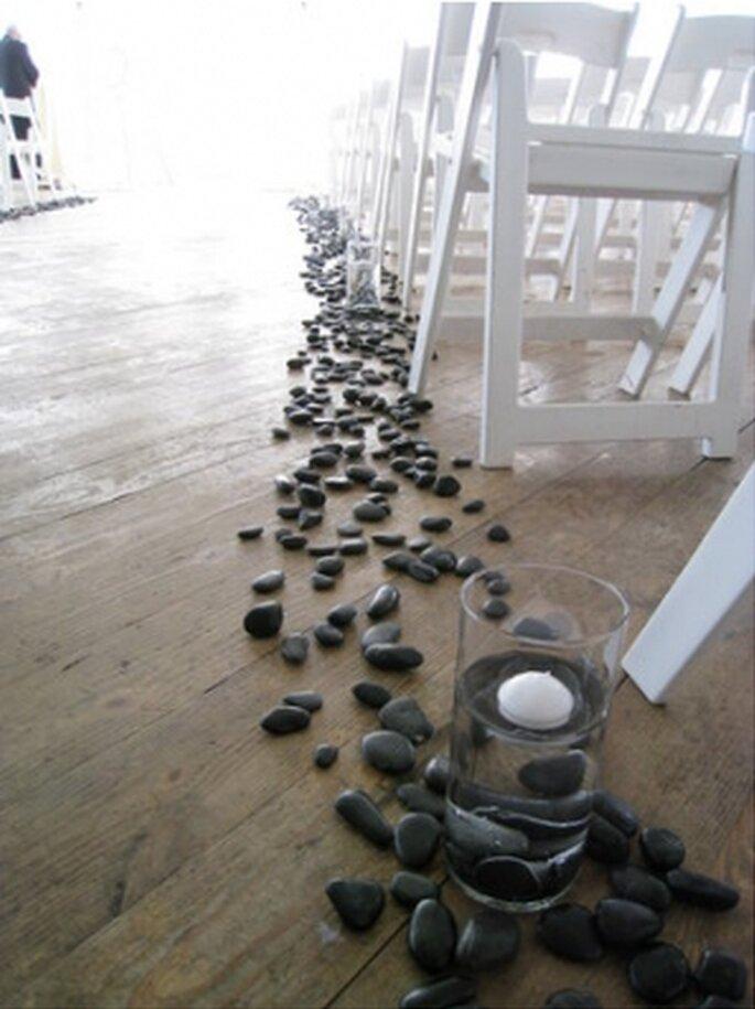 Boda creativo camino : ideas para decorar una boda con tendencia ecol?gica