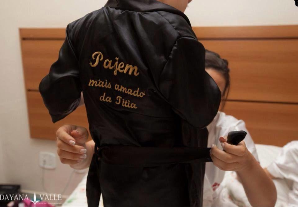 Robe de Cetim - Infantil www.atelieranart.com.br