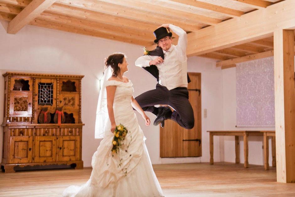 Hochzeit in Oberösterreich. Beispiel: Kreative Hochzeitsfotografie, Foto: myshoot.