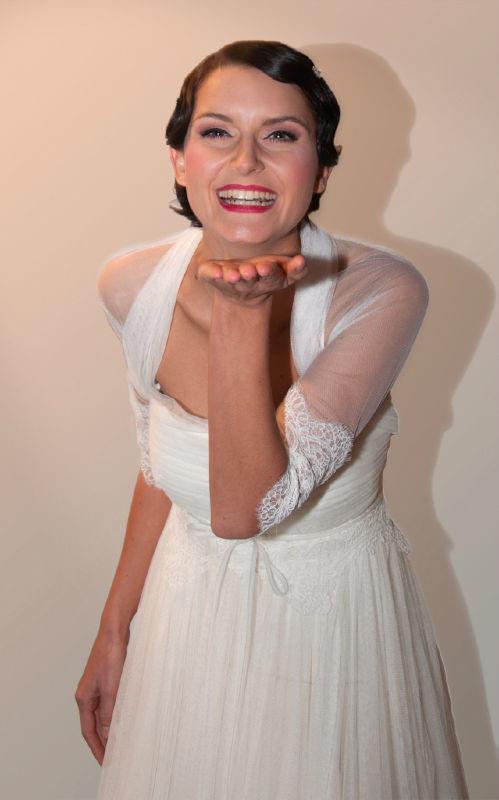 Beispiel: Brautstyling, Foto: FACE & BODY Day Spa.