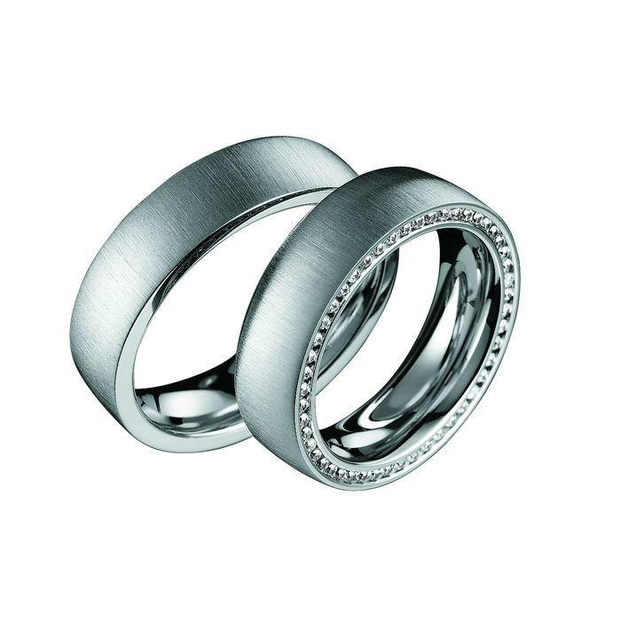 Beispiel: Trauringe - Silber, Foto: Die Schatztruhe.