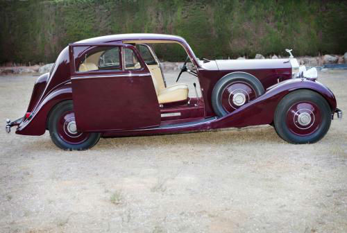 1937 Rolls Royce Coupe