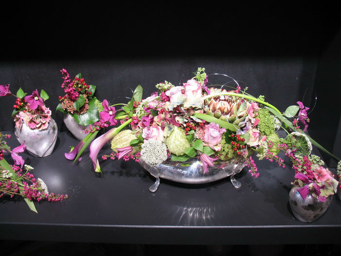 Beispiel: Florale Dekoration, Foto: Frankfurter Blumenbote.