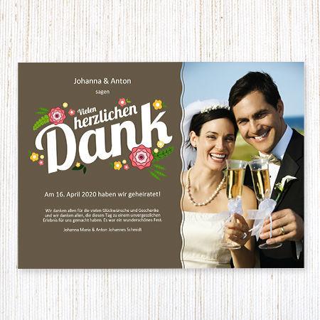 Dankeskarten von Wunderkarten Foto: wunderkarten.de