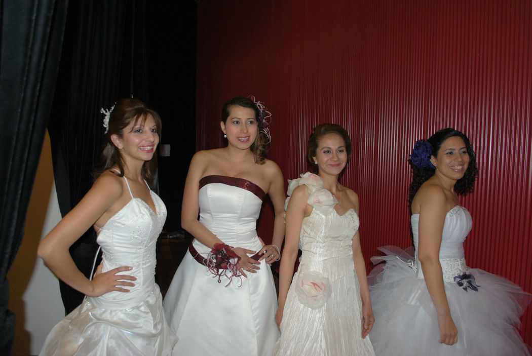Maquillaje Clo Dehnhardt. Desfile de Novias Ripley San Bernardo