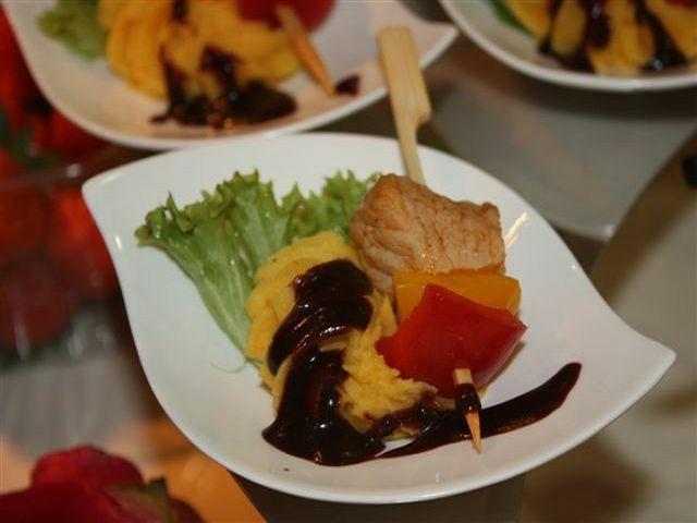 Beispiel: Menü, Foto: Roland Link catering-service.