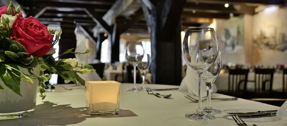 Beispiel: Tischdekoration, Foto: Cremon.