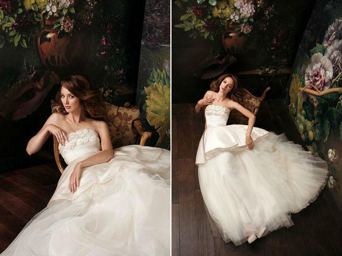 Beispiel: Brautkleider für jeden Geschmack, Foto: Verinas.