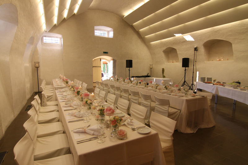 Beispiel: Schlosskeller, Foto: Schloss Heidegg.