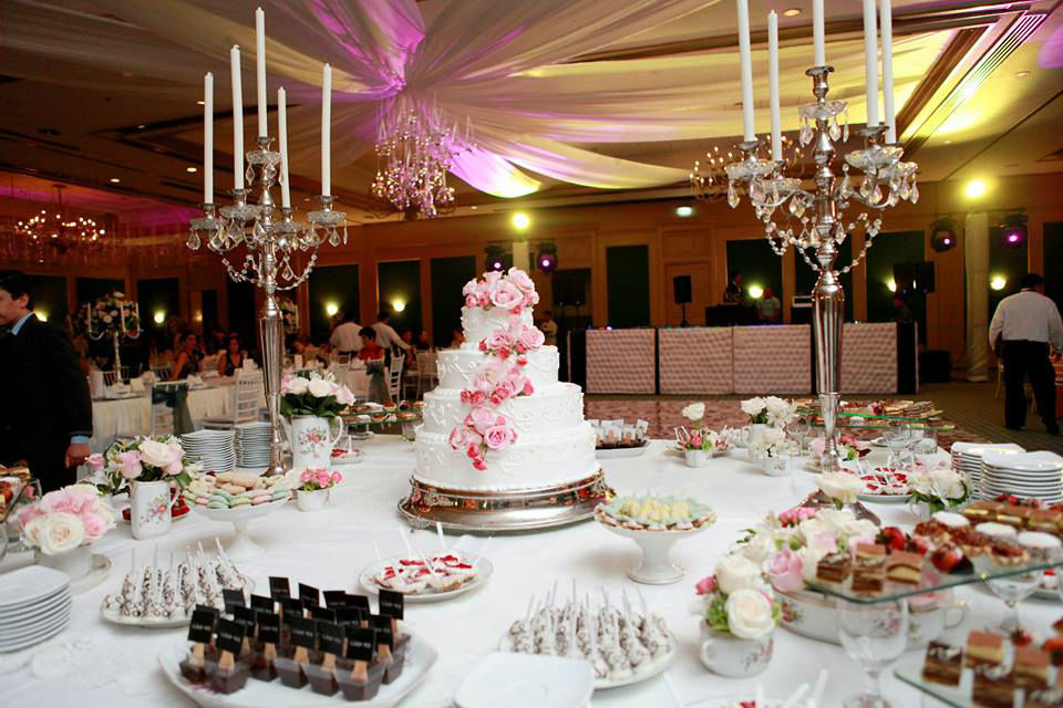 Charming wedding studio