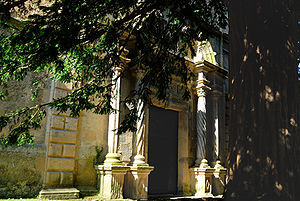 Exterior de la Capilla de Santa Ana