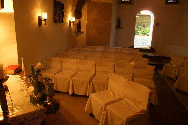 Beispiel: Trauung, Foto: Schlosshotel Friedewald.