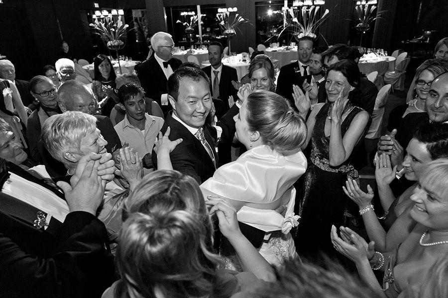 Beispiel: Hochzeitstanz Brautpaar, Foto: Sandra Stamm Fotografie.