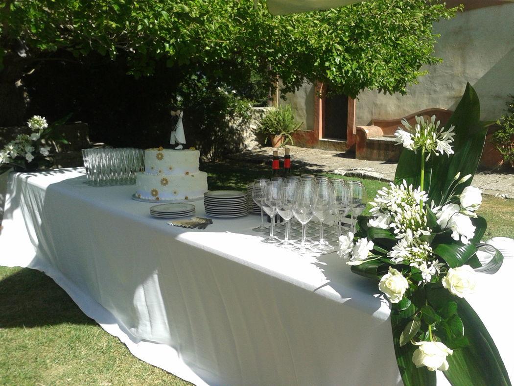 Masseria Rossella -  Ricevimento di nozze all'aperto