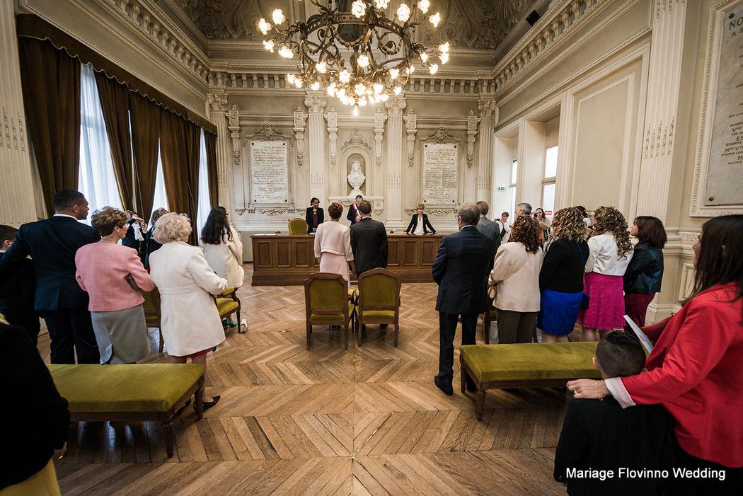 Cérémonie civile par Flovinno Wedding