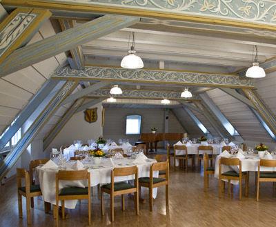 Beispiel: Bürgersaal, Foto: Wasserschloss Inzlingen.