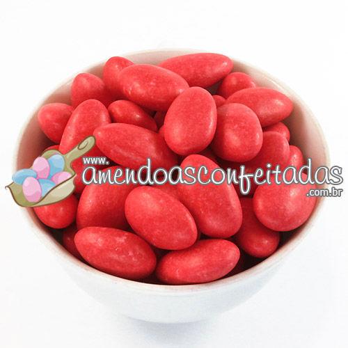 Amêndoas Confeitadas Vermelha Limited Edition - Recomendadas para o Dia dos Namorados ou Chá-de-Lingerie.