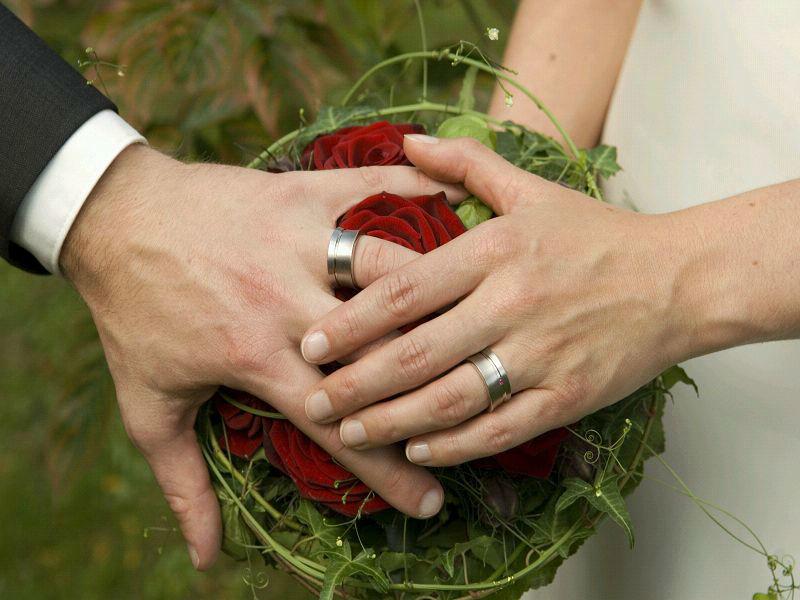 Beispiel: Der Bund für das ganze Leben, Foto: Hochzeitspfarrer.