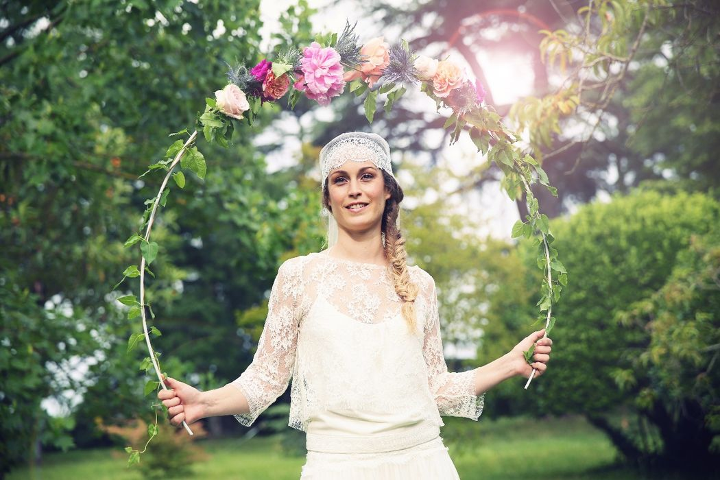 Shooting inspiration brunch fleuri - Photo : Remember Happiness