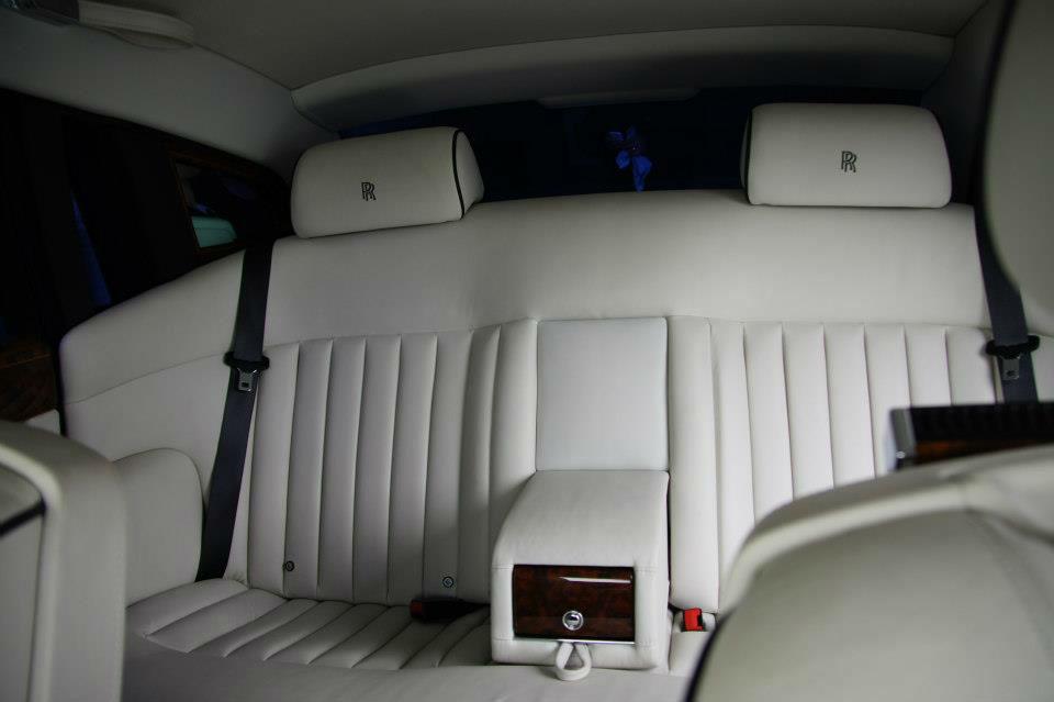 Beispiel: Rolls Royce Phantom Innenansicht, Foto: FirstclassLimos.ch.