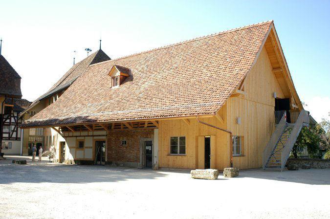 Beispiel: Eindruck vom Gelände, Foto: Kulturhof - Schloss Köniz.