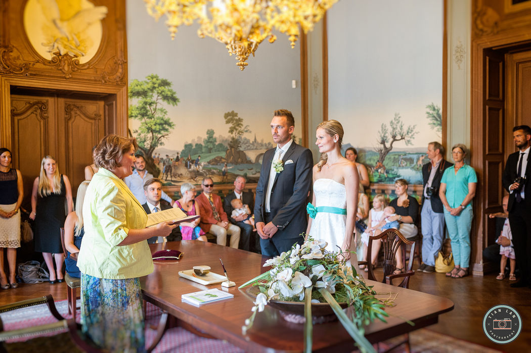 Tian Lan Photography - Hochzeitsfotograf Frankfurt - Standesamt