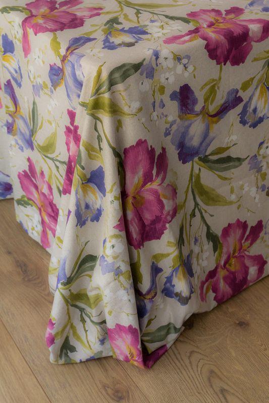 Mantel estampado floral