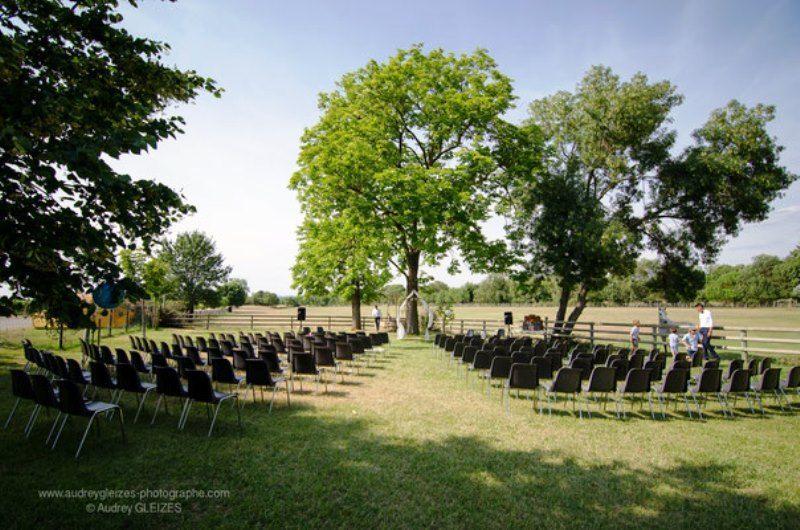 Ceremonie de plein air mariage montpellier