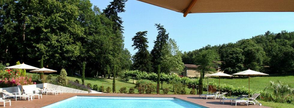 La piscine du Castelet