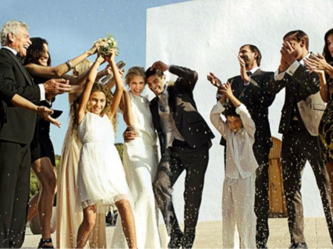 Beispiel: Hochzeitsanzüge, Foto: Modehaus Zins.