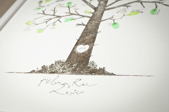 """Joe + Su é uma colaboração entre o ilustrador João Lourenço e a Wise_up Weddings.  O nosso primeiro projecto é """"The Love Tree"""", uma impressão digital fine art em papel de algodão, no formato 40x50cm, personalizada com o nome e data do casal.  Esta ilustração é uma árvore com tronco e ramos, onde irão nascer folhas e mensagens bonitas, desenhadas, carimbadas e escritas pelos amigos e família no dia especial.  A impressão fine art  do desenho base é feita pelos estúdios Gamut. Garantimos uma belíssima imagem que irá durar os próximos 50 anos!  Para mais detalhes, falem connosco: joeandsu@wiseup-weddings.com"""
