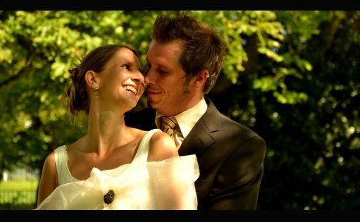 Beispiel: Brautpaar, Foto: Hochzeitscouch.ch.