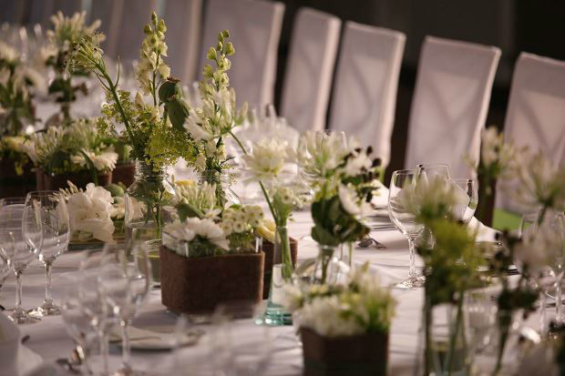 Beispiel: Tischdekoration, Foto: Rauschende Feste.