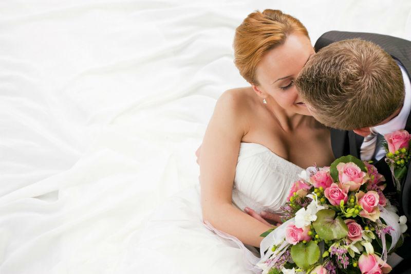 Beispiel: Hochzeitspaar, Foto: Hotel Ambassador.