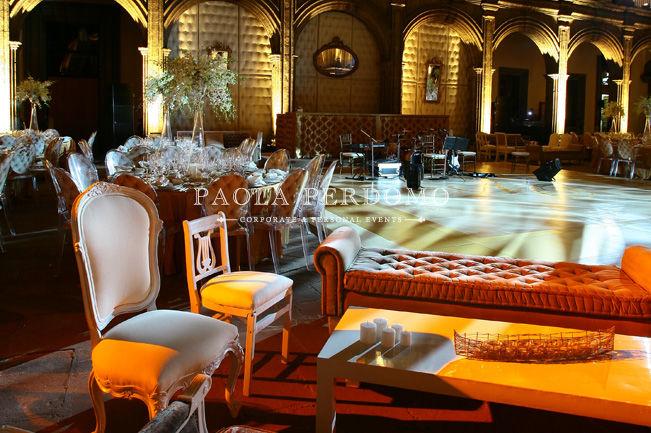 Ambientación de espacios para bodas con estilo único. Foto: Paola Perdomo