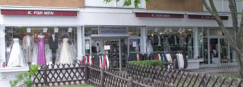 Beispiel: Ladengeschäft in Berlin, Foto: K. For Men.
