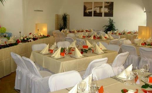 Beispiel: Hochzeitstafel, Foto: La Tavola e Castelloteca.
