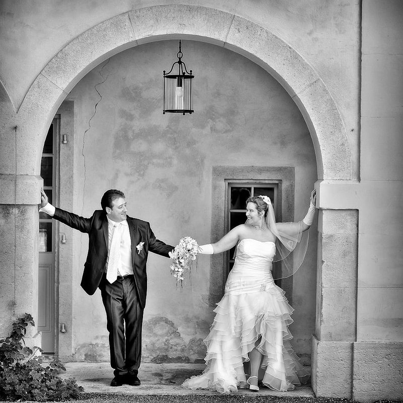 Hochzeitsbilder in Schwarz-Weiß, Foto: Alexander Volmar.