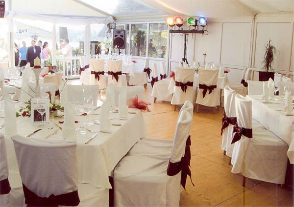 Beispiel: Bankett, Foto: Hotel Restaurant Igel.