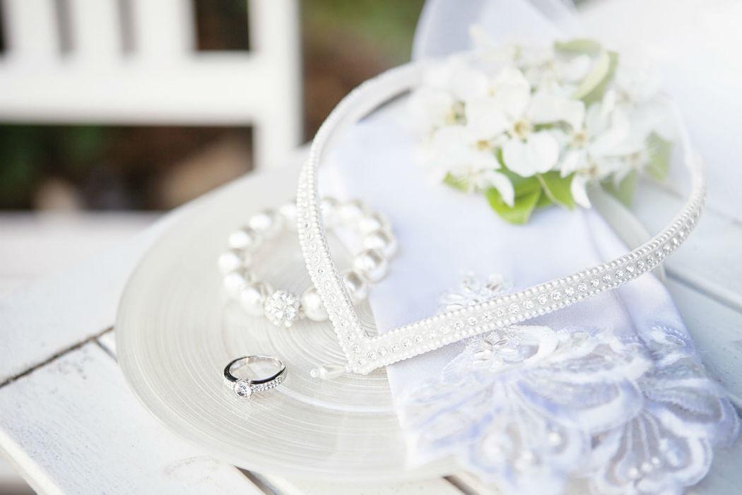 Beispiel: Umfassende Hochzeitsvorbereitung, Foto: Romina Certa Weddings & Events.