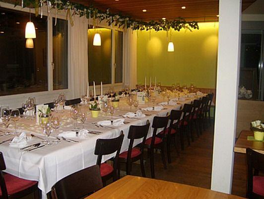 Beispiel: Restaurant, Foto: Restaurant Raten.