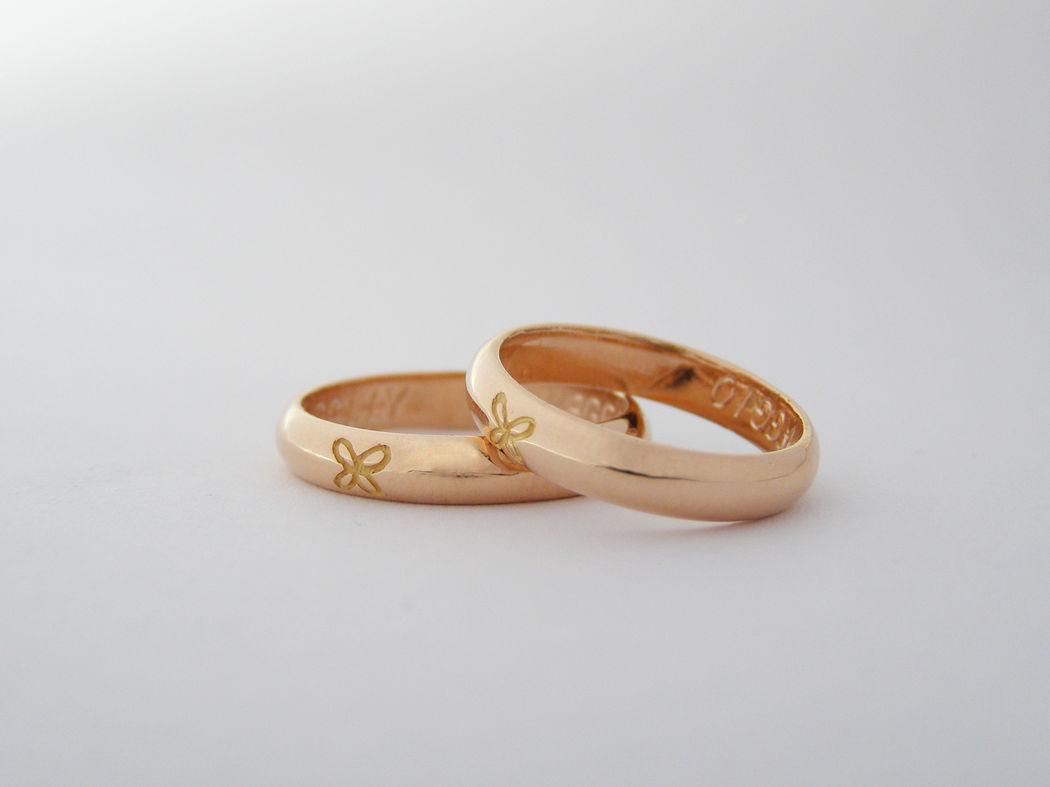 MIOeTUO - anelli in oro rosa