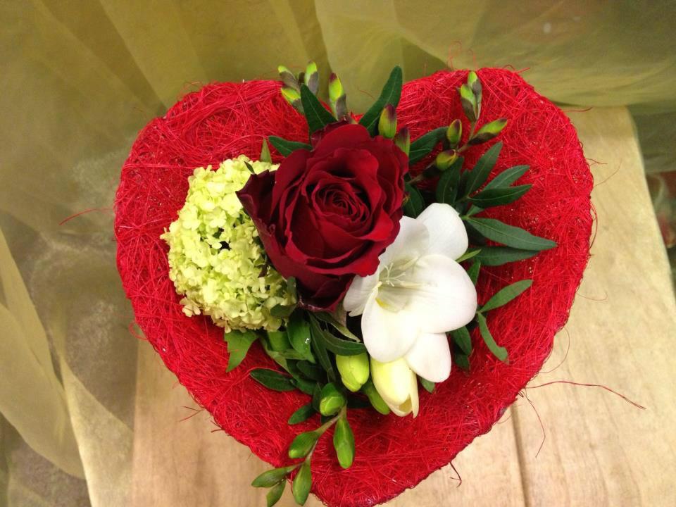 Beispiel: Blumendekoration, Foto: Blumen Röglin.
