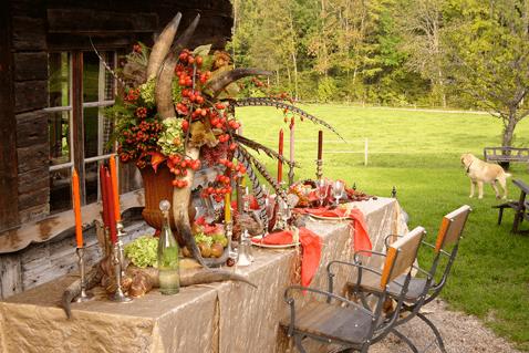 Beispiel: Blumenschmuck, Foto: Aschwin Blumen und Dekoration.