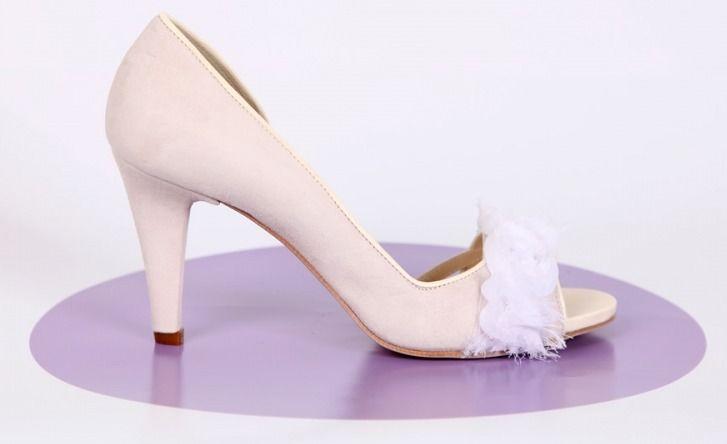 Beispiel: Trendige Brautschuhe, Foto: Gwendolina - Schöne Schuhe für die Braut.