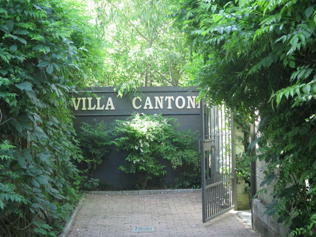 giardino villa cantoni