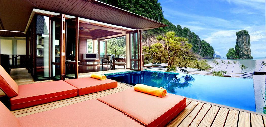 Zimmerbeispiel des Centara Grand Beach Resort & Villas Krabi, Foto: Centara Hotels and Resorts.
